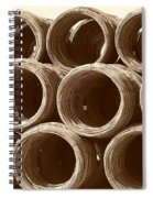 Rolled Steele Spiral Notebook