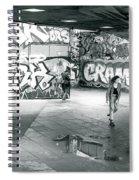 Rollergirl Spiral Notebook