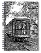 Rollin' Thru New Orleans 2 Bw Spiral Notebook