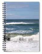 Rolling Ashore Spiral Notebook
