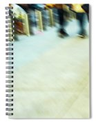 Rolling Blading In Nyc Spiral Notebook