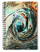 Rolling Downhill Spiral Notebook