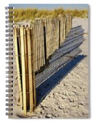 Rolling Fence Spiral Notebook