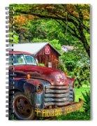 Rolling For Jesus Spiral Notebook