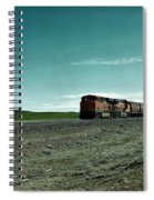 Rolling Freight Train Spiral Notebook