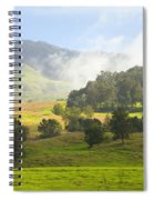 Rolling Green Hills Spiral Notebook
