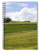 Rolling Green Hills With Trees Spiral Notebook