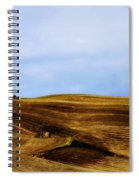 Rolling Hills Of Hay Spiral Notebook