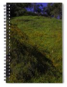 Rolling Hills With Poppies Spiral Notebook