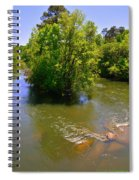 Rolling On The River Spiral Notebook