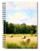 Rolling The Hay Spiral Notebook