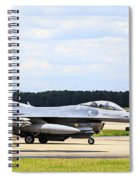 Rolling To Position Spiral Notebook