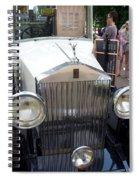 Rolls Royce Ice Cream Car  Spiral Notebook