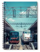 Roma Termini Railway Station Spiral Notebook