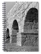 Roman Aqueduct Spiral Notebook