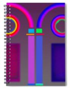 Roman Arches Spiral Notebook