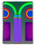 Roman Arctiecture Doors Spiral Notebook