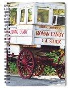 Roman Candy Spiral Notebook