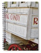 Roman Chewing Candy - Surreal Spiral Notebook