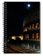 Roman Colosseum Spiral Notebook