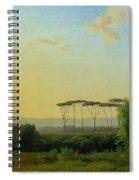 Roman Countryside Spiral Notebook