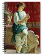 Roman Girl Spiral Notebook