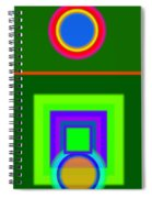 Roman Green Spiral Notebook
