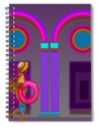 Roman Holiday Spiral Notebook