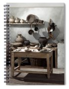 Roman Kitchen, 100 A.d Spiral Notebook
