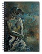 Roman Nude 45 Spiral Notebook