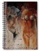 Roman Nudes 45 Spiral Notebook