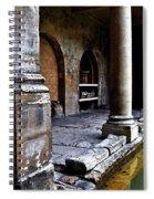 Roman Pillars  Spiral Notebook