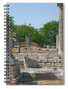 Roman Ruins Near St. Remy In Provence Spiral Notebook