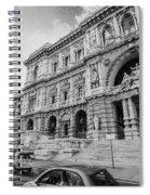 Roman Rush  Spiral Notebook