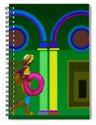 Roman Spring Spiral Notebook