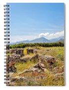 Roman Villa Ruins On Crete Spiral Notebook