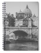 Roman Vintage Views Spiral Notebook