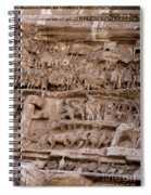 Roman Wall Spiral Notebook