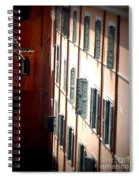 Roman Windows Spiral Notebook