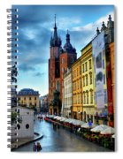 Romance In Krakow Spiral Notebook