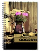 Romance In The Afternoon 2 Spiral Notebook