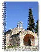 Romanesque Chapel Saint Sixte  Spiral Notebook