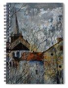 Romanesque Church  Spiral Notebook