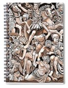 Romans And Barbarians Spiral Notebook