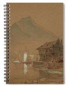 Romantic Bay Spiral Notebook