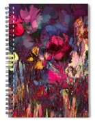 Romantic Garden Spiral Notebook