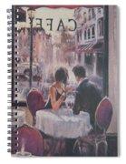 Romantic Meeting 2 Spiral Notebook