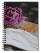 Romantic Memories Spiral Notebook
