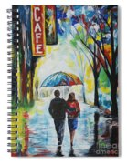Romantic Night Out Spiral Notebook