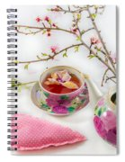 Romantic Pinks And Violets 1 Spiral Notebook